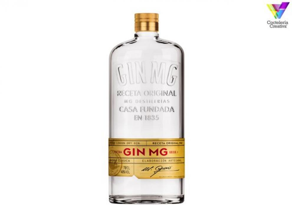 Gin MG - botella