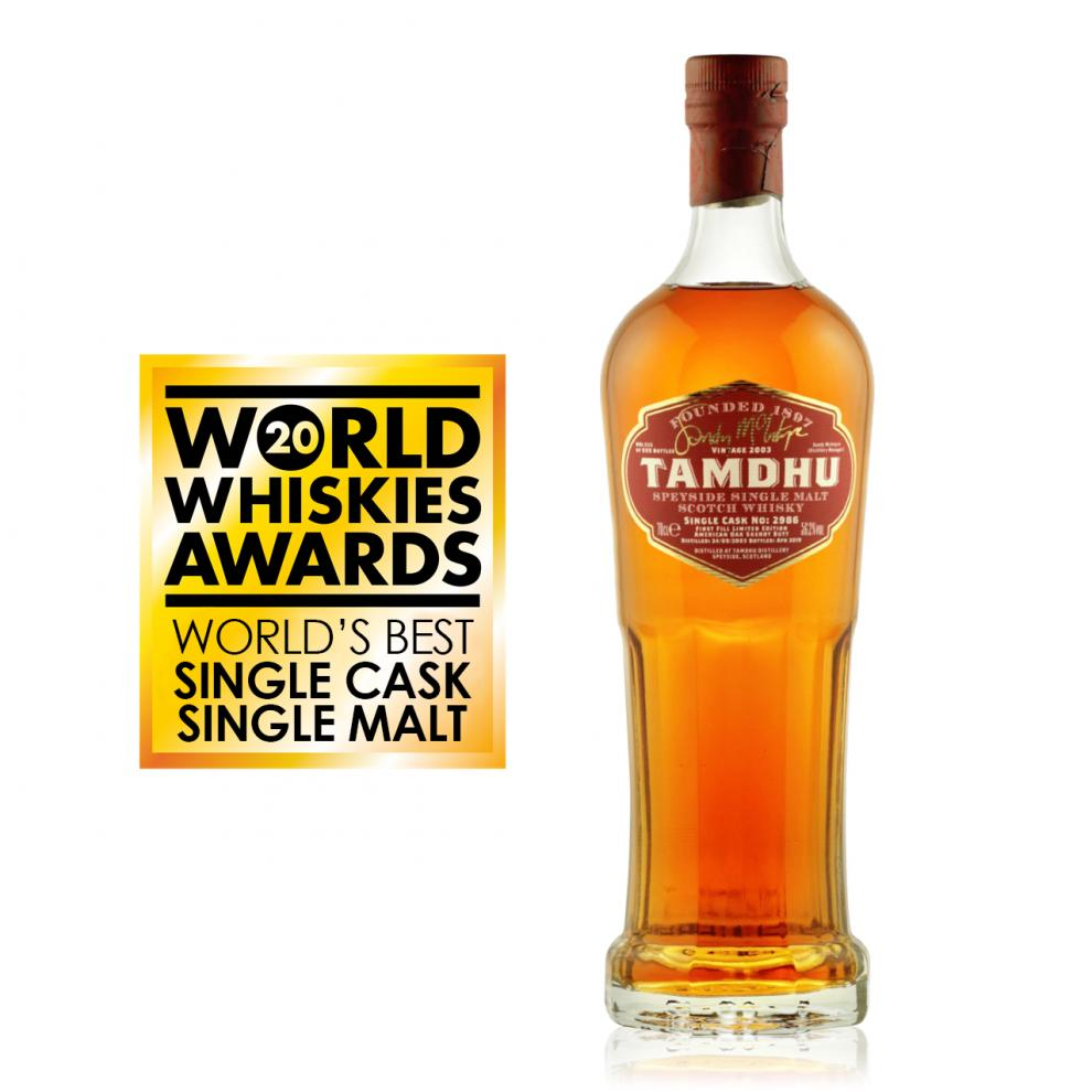 imagen Tamdhu Distillery Manager's Single Cask