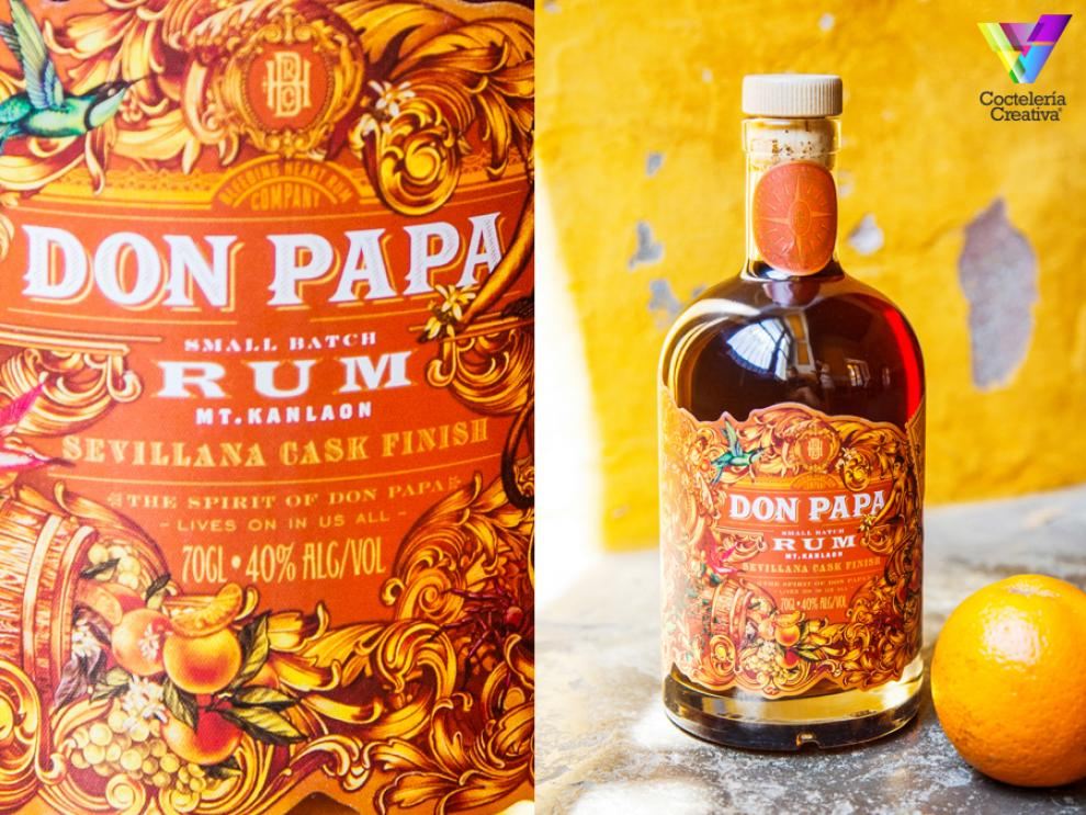 imagen botella Don Papa Sevillana Cask Finish