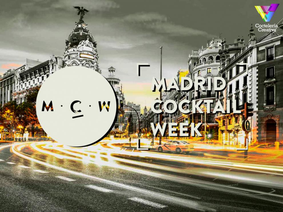 imagen cartel Madrid Cocktail Week 2019