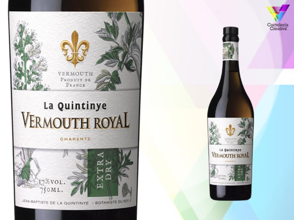 Imagen botella Quintinye Vermouth Royal Extra Dry