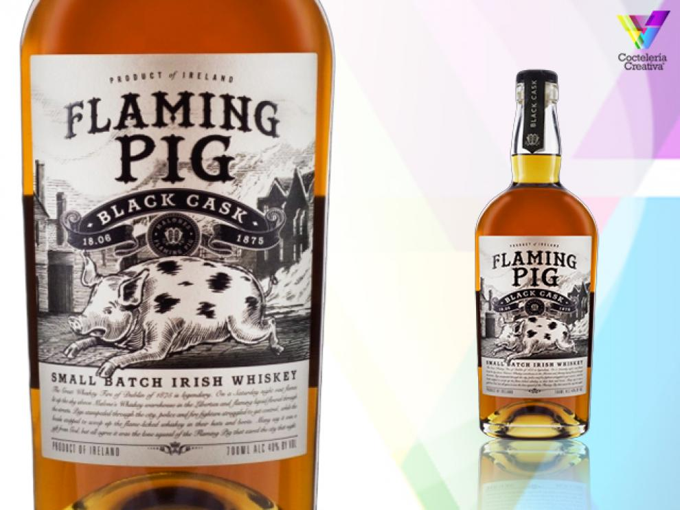 imagen botella Flaming Pig Black Casks Whiskey