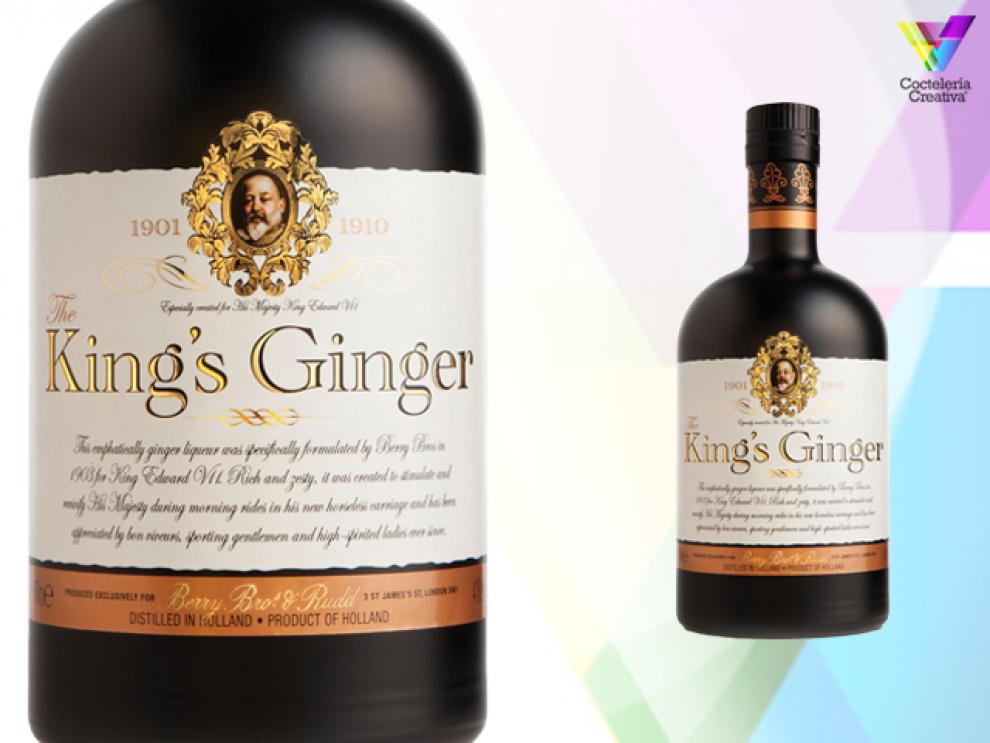 imagen botella licor Kings Ginger