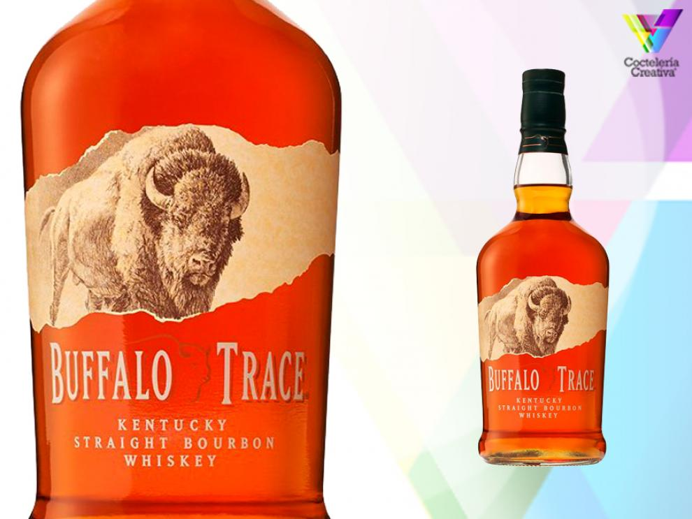 Imagen de buffalo trace kentucky straight bourbon whiskey