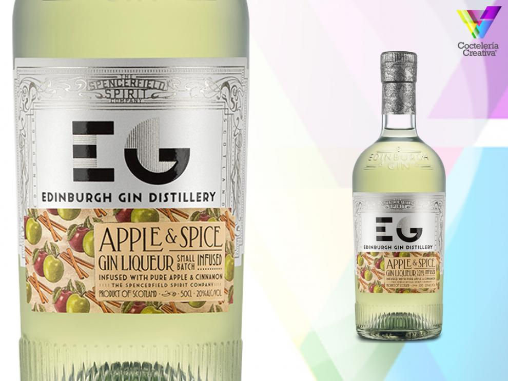 Edinburgh Gin - Licor de gin Apple & Spice