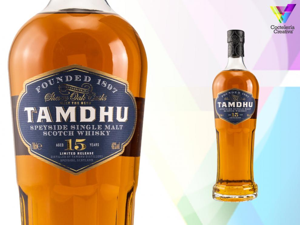 imagen de whisky tamdhu 15 años sepeyside single malt scotch whisky