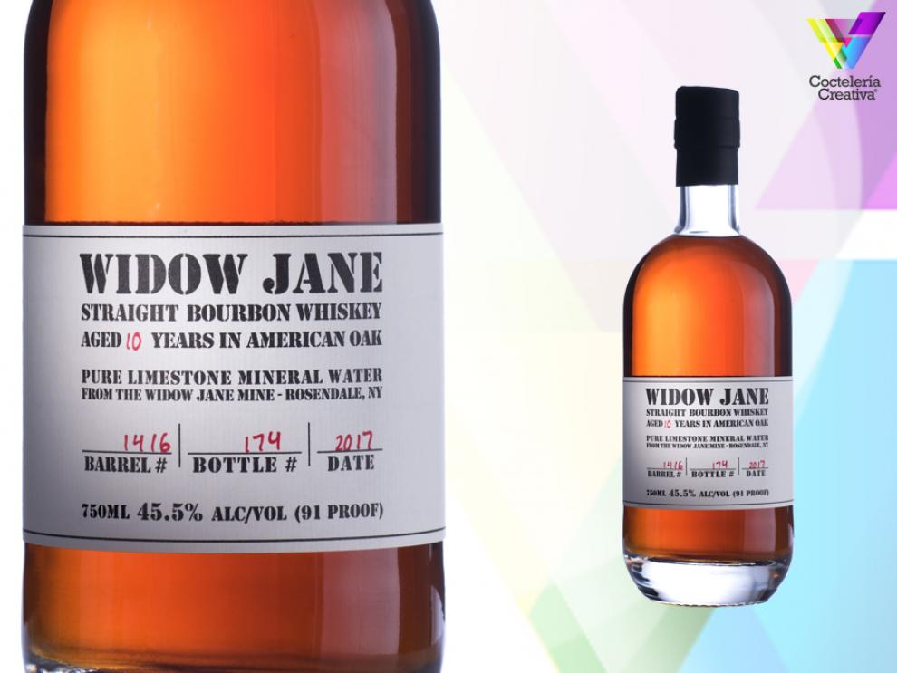 imagen de la botella de Widow Jane 10 Years Old Bourbon Whiskey